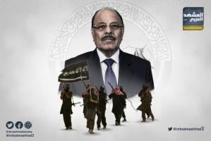 الإرهابي محسن الأحمر.. جنرال إخواني يطعن التحالف ويخدم الحوثي
