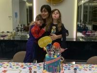 وسط الحظر.. نادين نجيم تحتفل بعيد ميلاد نجلها