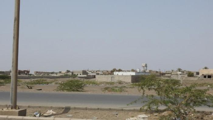 اعتداء حوثي على قرى الدريهمي