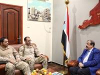"""مشاورات بين """"الانتقالي"""" و""""التحالف العربي"""" لمؤازرة الجبهات"""