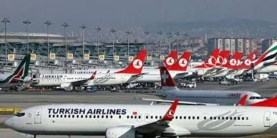 تركيا توقف جميع الرحلات الدولية خوفا من كورونا