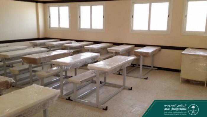 """""""البرنامج السعودي"""" يجهز 12 فصلا بمدرسة المسيلة (صور)"""