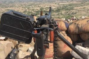 القوات الجنوبية تتصدى لهجوم حوثي شمالي الضالع