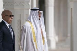 بن زايد يبحث أزمة كورونا مع رئيس موريتانيا هاتفيًا