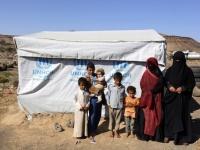 بالفيديو.. مفوضية اللاجئين تطلب مساعدات للنازحين في اليمن