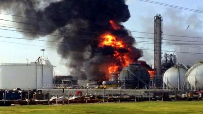 انفجار هائل في محطة نقل الغاز بين تركيا وإيران