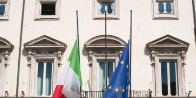 إيطاليا تنكس الأعلام وتقف دقيقة حداد على أرواح ضحايا كورونا