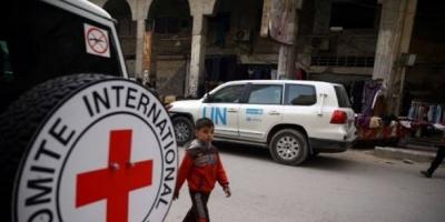 الصليب الأحمر يدعو كافة الأطراف إلى التفرغ لمواجهة كورونا