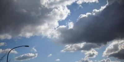 تشكل السحب الركامية ببعض مناطق حضرموت