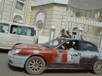 سيارات تجوب المنصورة لتوعية المواطنين بكورونا (صور)