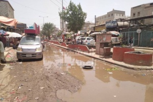 فرزة جعار تغرق في الصرف الصحي (صور)