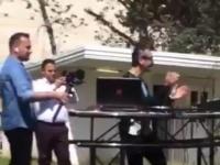 شاهد..حفلة غنائية في إيران بمستشفى مخصصة للمصابين بكورونا