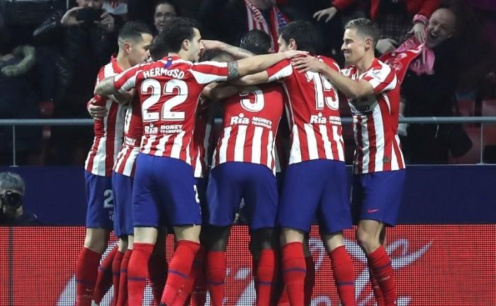 أتلتيكو مدريد يعلن تخفيض 70% من نسبة أجور لاعبي ومدربي الفريق الأول
