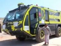 البرنامج السعودي: حافلات وعربات إطفاء لتسهيل التنقل بالمهرة