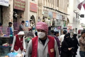 ارتفاع عدد حالات الإصابة بفيروس كورونا في قطر إلى949