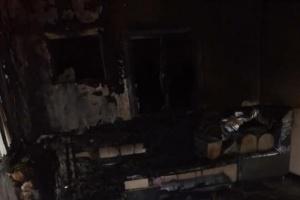 حريق يلتهم منقولات منزل بالممدارة (صور)