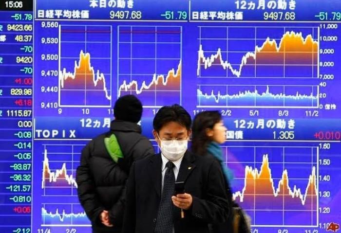 """مؤشر """"نيكي"""" الياباني يرتفع بدعم أسهم شركات الصحة والطاقة"""