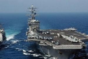البحرية الأمريكية تعلن إصابة 155 جنديا بكورونا على متن حاملة طائرات