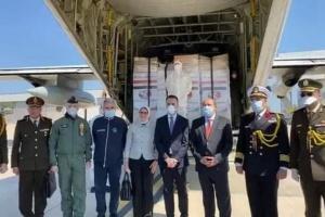 مصر ترسل مساعدات طبية إلى إيطاليا لمواجهة كورونا(صور)