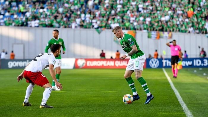 ستيفن كيني يخلف مكارثي في تدريب المنتخب الأيرلندي لكرة القدم