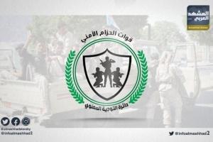الحزام الأمني يتصدى لهجوم إرهابي بأبين