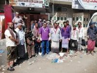 مبادرة شبابية لتنظيف مدينة الحبيلين (صور)
