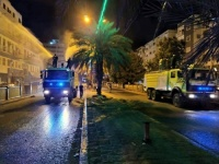 انطلاق حملة تعقيم شوارع المعلا
