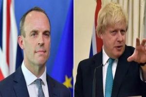 """وزير الخارجية البريطاني ينوب عن """"جونسون"""" لحين خروجه من المشفى """