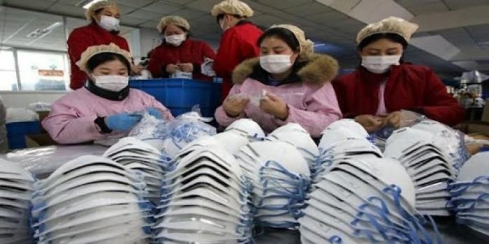 الصين تبيع 4 مليار كمامة خلال شهر