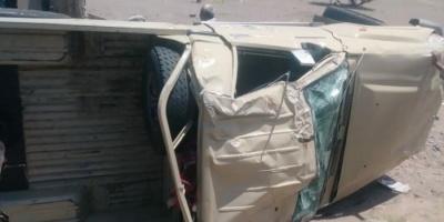 وفاة وإصابة 5 من قوات الصاعقة بحادث في المضاربة