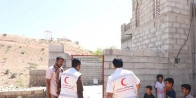 """""""الهلال الإماراتي"""" يُغيث 180 أسرة في شبوة (صور)"""