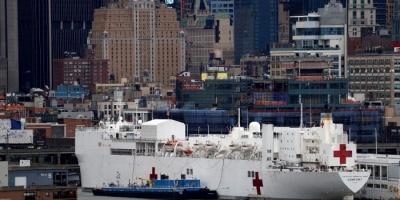 البنتاغون يسجل عدد من الإصابات بكورونا على متن سفن تقديم العلاج