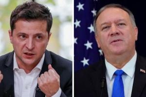 هاتفيًا.. بومبيو يبحث مع الرئيس الأوكراني أزمة «كورونا»