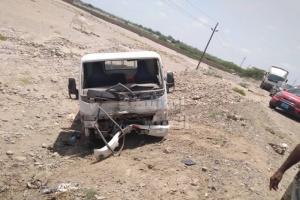 ضحيتان في حادث مروري بأبين (صور)
