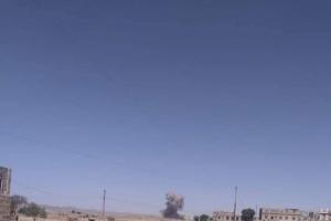 قتلى حوثيين بغارات على المليشيا في مكيراس