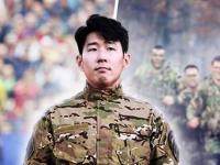 نجم توتنهام يخضع لتدريبات الخدمة العسكرية بكوريا الجنوبية