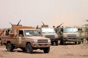 """هجومان حوثيان على """"المشتركة"""" في حيس"""