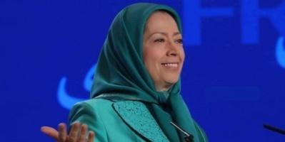 رجوي تُطالب بإسقاط النظام الإيراني