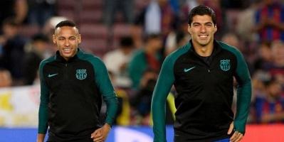 سواريز: على لاوتارو أن يكون سعيدا.. ونيمار مرحب به دائما في برشلونة