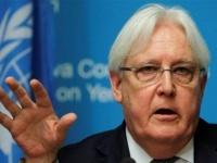 اعتبر القرار فرصة.. غريفيث يرحب بوقف التحالف العربي لعملياته العسكرية