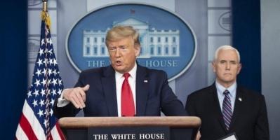 انطلاق المؤتمر الصحفي اليومي لخلية الأزمة الأمريكية حول أزمة كورونا