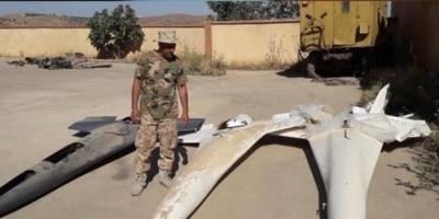 الجيش الليبي يسقط طائرتين مسيرتين تركيتين غرب طرابلس