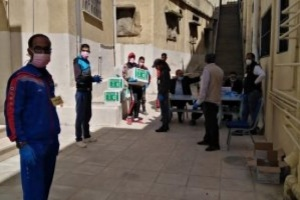 سلمان للإغاثة يقدم مساعدات غذائية وعلاجية للفلسطينيين في الأردن