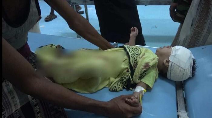 مقطع يوثق وحشية القصف الحوثي على حيس