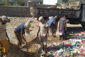 """""""انتقالي زنجبار"""" ينفذ حملة نظافة في الأحياء والسواحل"""