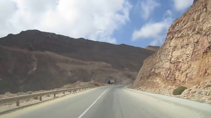 منع حركة السير بين حضرموت والمهرة