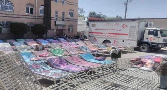 جبايات مليشيا الحوثي لكورونا تمتد إلى تجار المفروشات