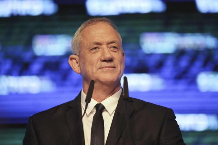 غانتس يناشد رئيس إسرائيل تمديد مهلة تشكيل الحكومة