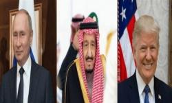 ترامب يشيد باتفاق أوبك بلاس ويوجه الشكر للملك سلمان وبوتين