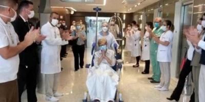 مُسنة برازيلية تقهر فيروس كورونا